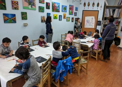 Fremont Drawing Lessons - Green Forest Art Studio