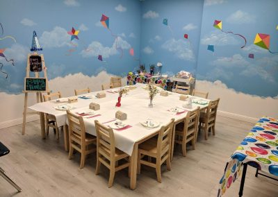 Fremont Kids Art Birthday Party Room