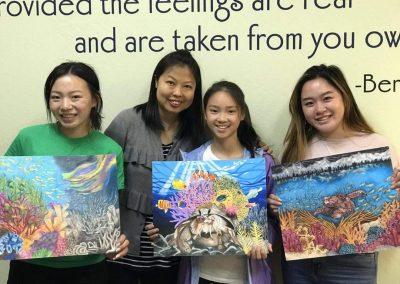 Green Forest Art Studio - Kids Art Classes - Student Award 13