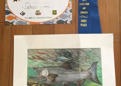Green Forest Art Studio - Kids Art Classes - Student Award 8