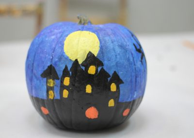 Green Forest Art Studio - Painted Pumpkin 2 - Fremont, CA