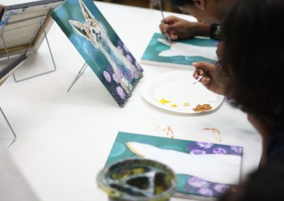 Kids Art Class - Green Forest Art Studio - Canvas Painting - Fremont, CA