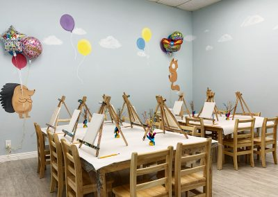 Fremont - Union City - Kids Birthday Party - Green Forest Art Studio